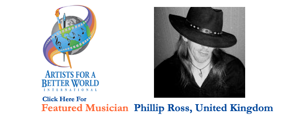 Phillip Ross, Featured Musician, UK
