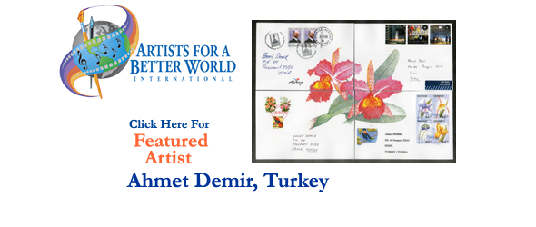 Ahmet Demir, Featured Artist, Turkey