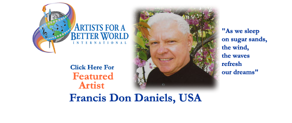 Francis Don Daniels, Featured Artist, USA