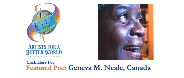 Geneva M. Neale, Featured Poet, Canada