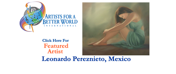 Leonardo Pereznieto, Featured Artist, Mexico