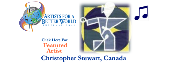 Christopher Stewart, Featured Artist, Canada
