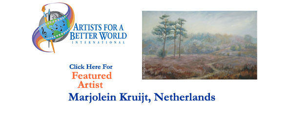 Marjolein Kruijt, Featured Artist, Netherlands