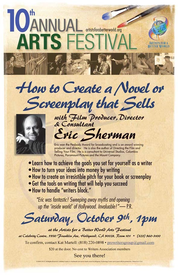 How to Create a Novel and Screenplay