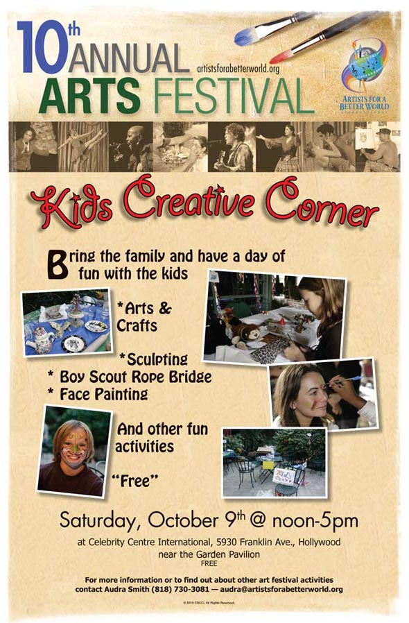 AFABW Kids Creative Corner (in Hollywood): 10/9/10